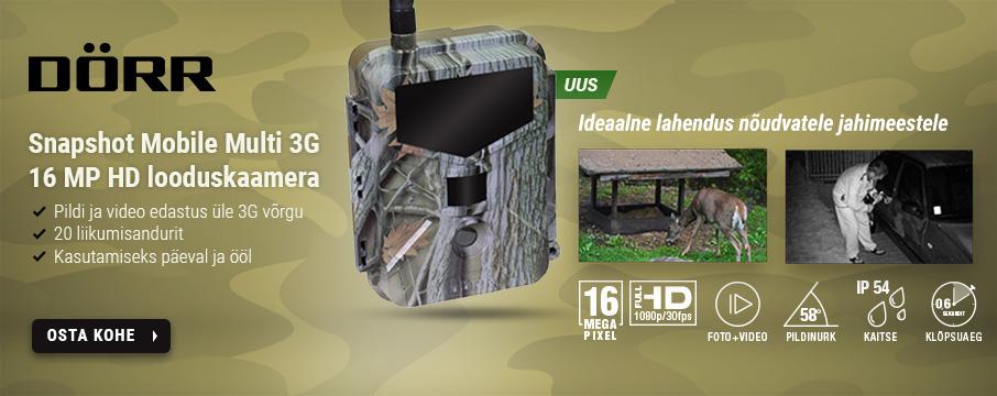 Dörr Snapshot Mobile Multi 3G 16MP HD looduskaamera