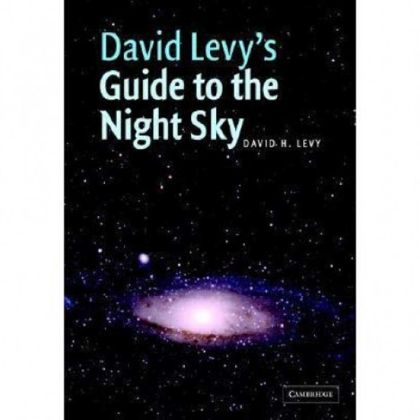 "Cambridge University Press David Levy's ""Guide to the Night Sky"" raamat"