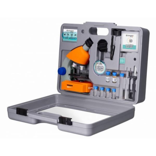 Bresser Junior 40x-640x mikroskoop koos tarvikute ja kõva ümbrisega