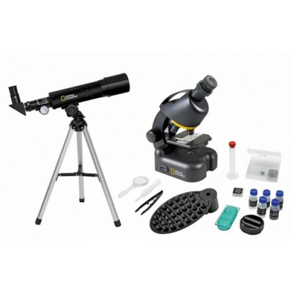 National Geographic Teleskoobi ja mikroskoobi komplekt