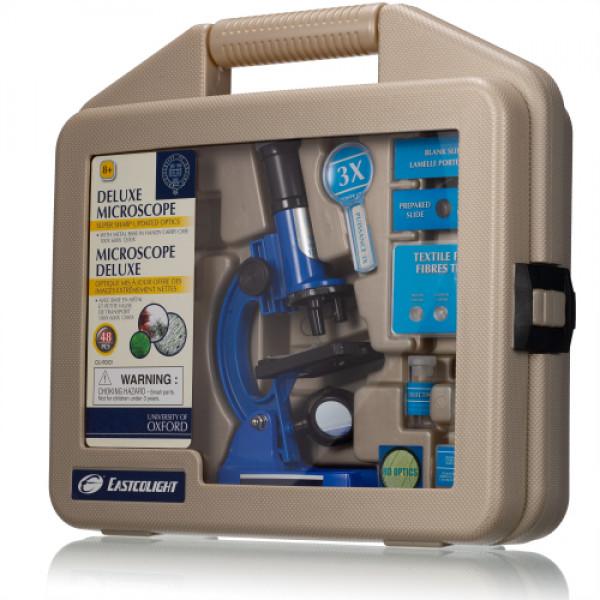 University of Oxford laste mikroskoop, mis on kantud kott
