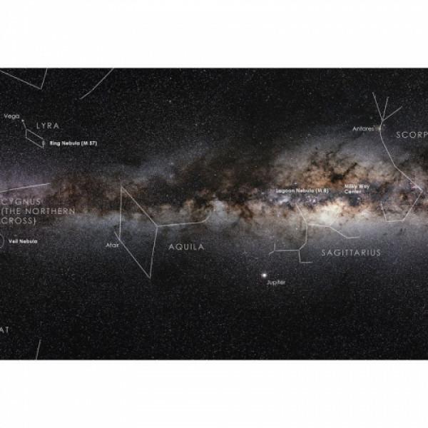 Astronomie-Verlag Plakat Meie Linnutee galaktika