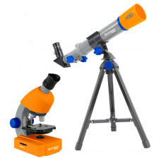 Bresser Junior mikroskoobi ja teleskoobi komplekt lastele