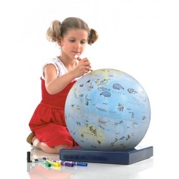 "Zoffoli Art. 912/1 ""Bimbi"" coloring globe for children"